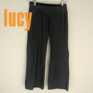 Lucy • Black Yoga Pants [Pants]
